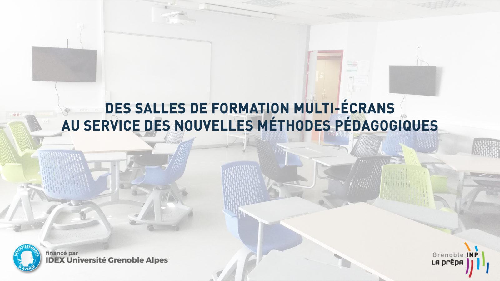 Des salles de formation multi-écrans au service des nouvelles méthodes pédagogiques